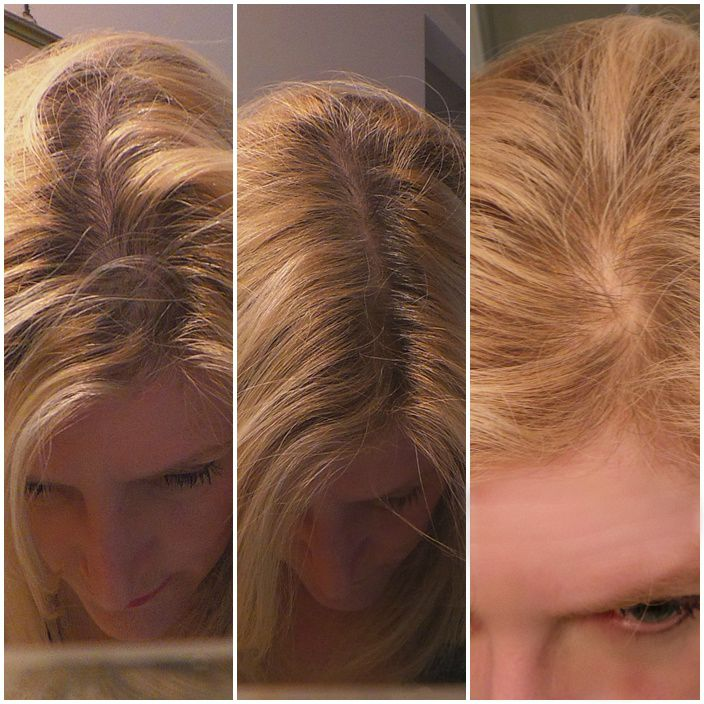 Before Inprocess After Mason Reed Root Touch Up