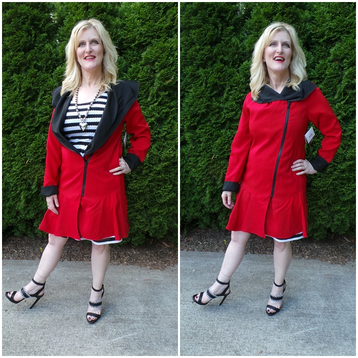 Janska Olivia Shelley Zurek Reversible Trench