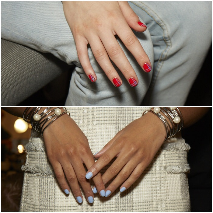 NYFW Spring Summer 2015 Manicures Brooks Brothers by Zac Posen Glamsquad for essie