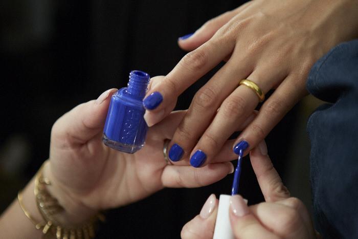 NYFW Spring Summer 2016 Manicures Jenni Packham Glamsquad for essie
