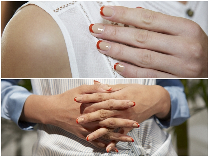 NYFW Spring Summer 2016 Manicures Veronica Beard Glamsquad for essie