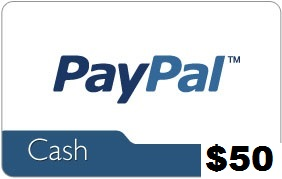 50 paypal gift card