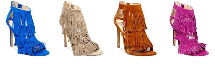 Steve Madden Women's Fringly Macys Fall Sandal