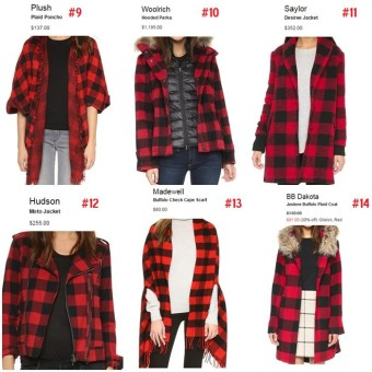 Buffalo Plaid Buffalo Check Gift Guide 2015 Coats