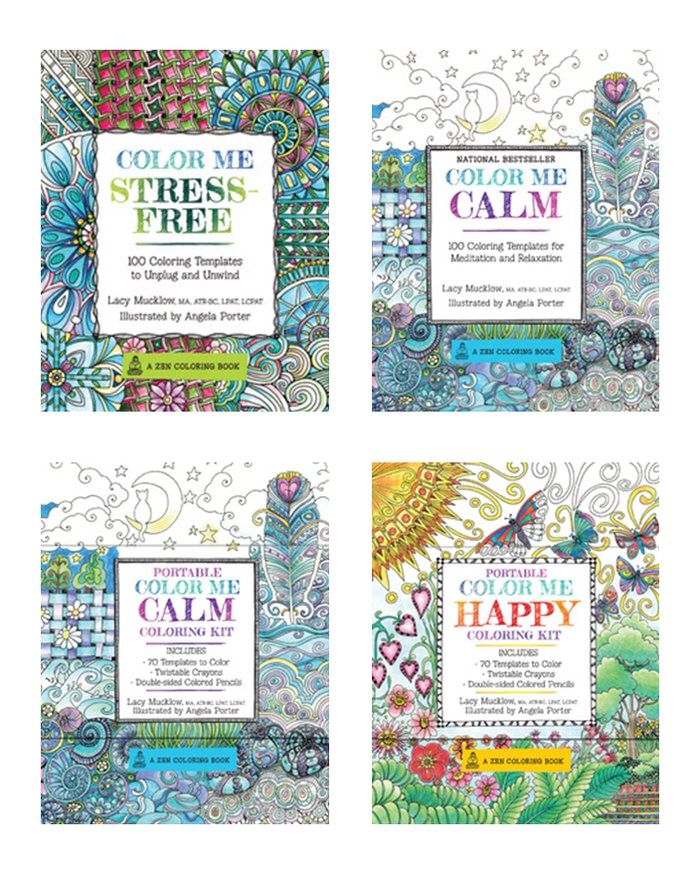 Adult Coloring Books Color Me Stress Free Calm