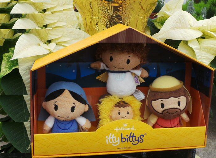 Hallmark Itty Bittys Nativity set scene