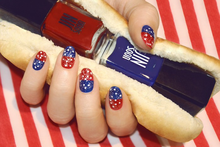 Veterans Day Manicures Nail Art