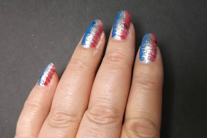 Veterans Day Manicures Nail Art3