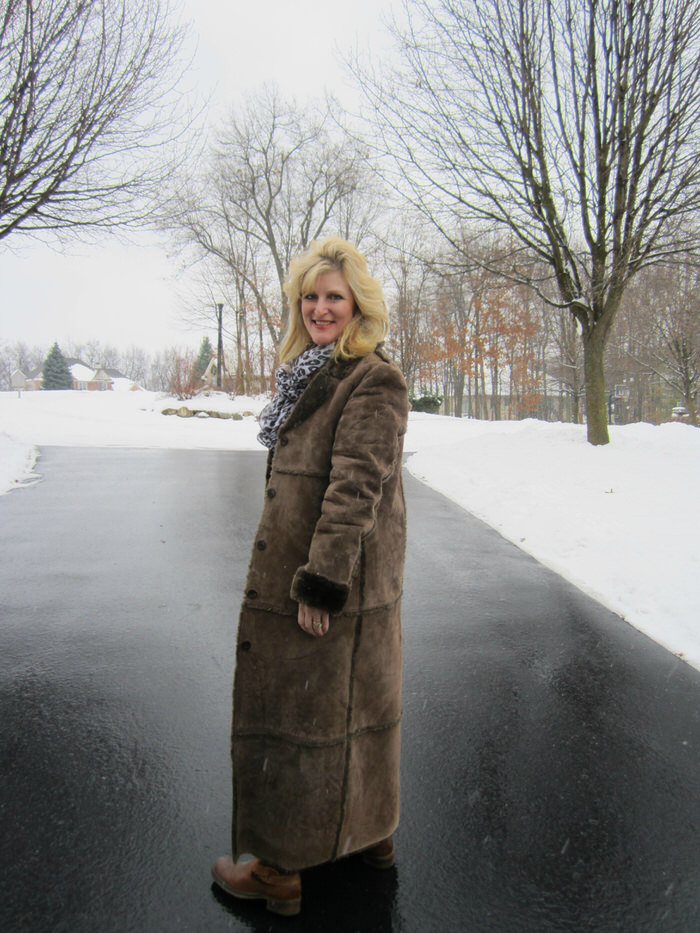 Winter Warm up Shelley Zurek Still Blonde after all these YEARS Women over 50