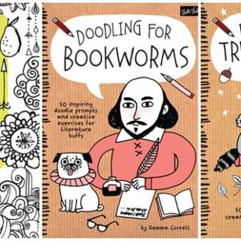 Adult Doodling Books