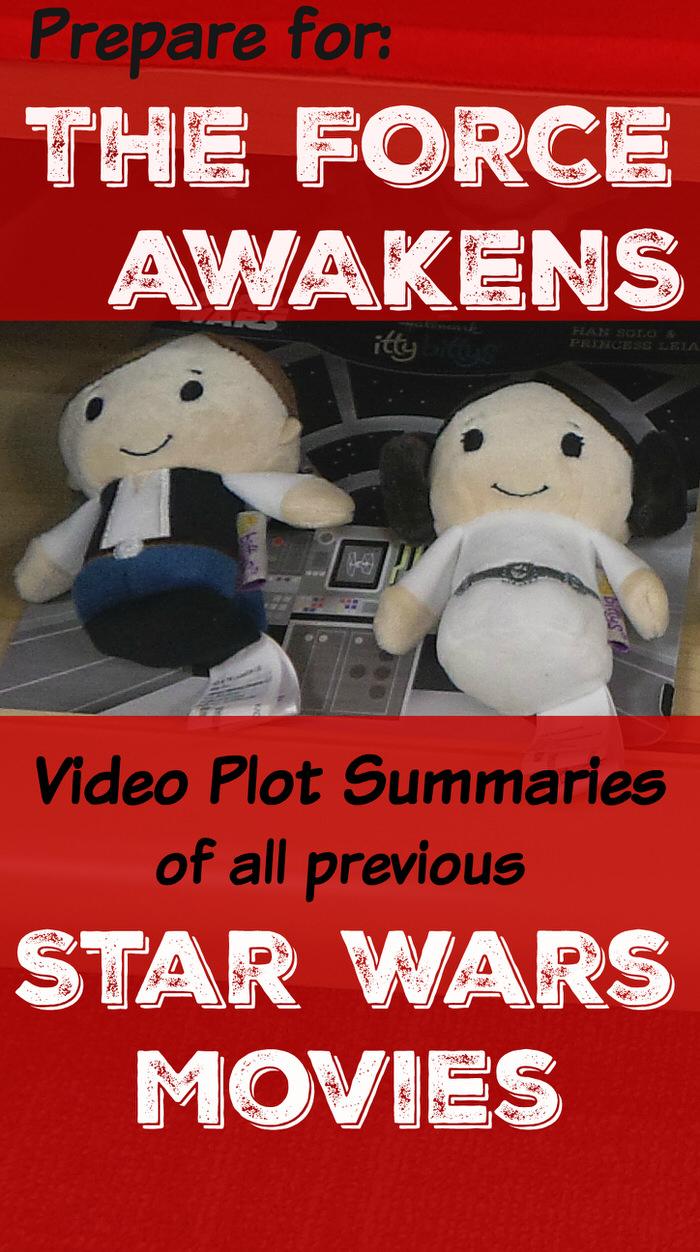 Video Star Wars Plot Summaries