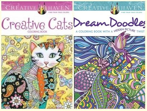 Creative Haven Creative Cats Dream Doodles