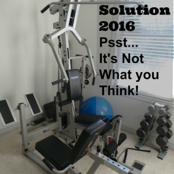 My 2016 Exercise Solution (It's Not What You Think)
