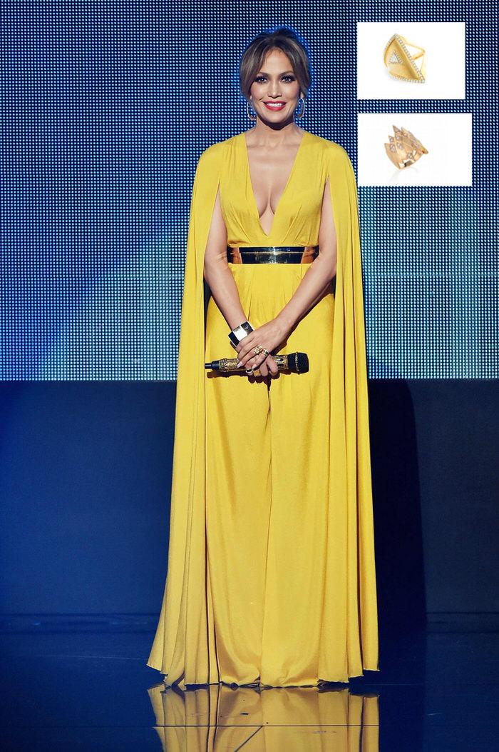 Jennifer Lopez Hairstyles AMA 2015 Marli