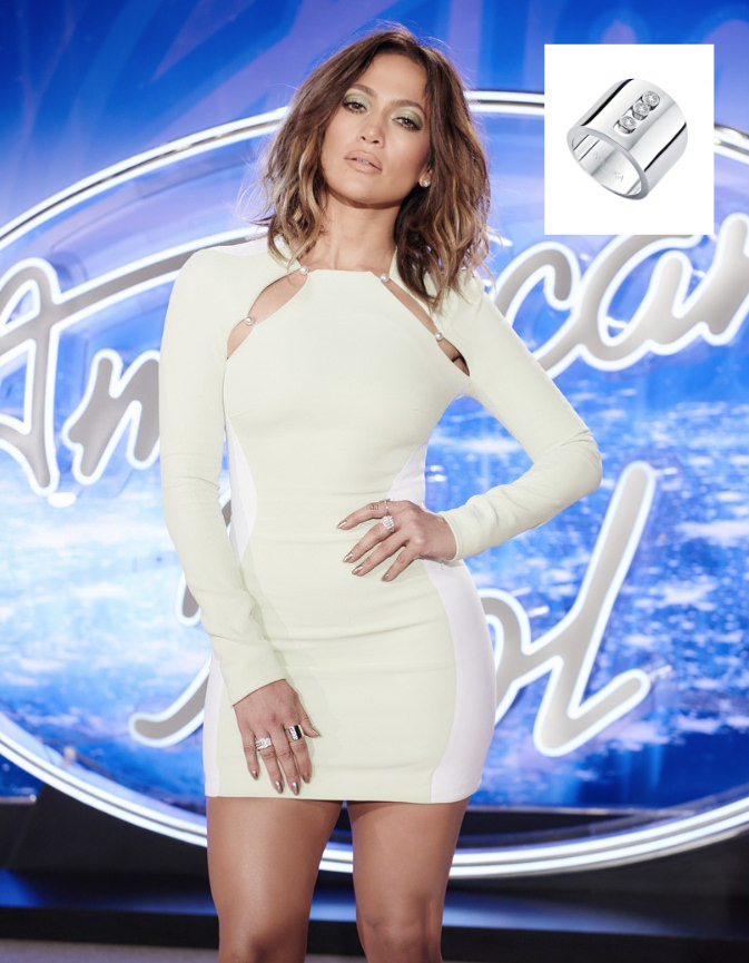 Jennifer Lopez Hairstyles American Idol auditions