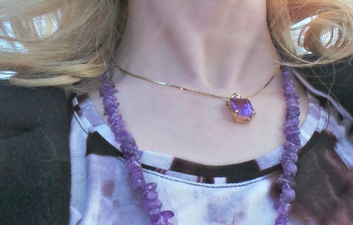 Purple for Valentines kohls