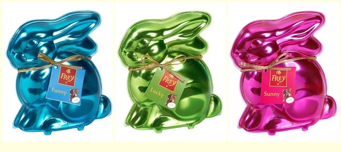 Chocolat Frey Bunny - Lucky Sunny Funny
