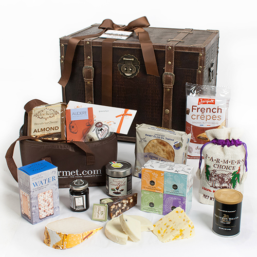 iGourmet Goumet Treasures for her Gift Trunk Gift Basket Selections Mothers Day