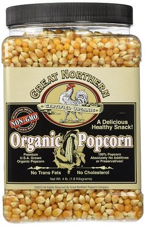 Great Northern Organic Popcorn