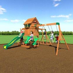 Best Wood Toys swing set