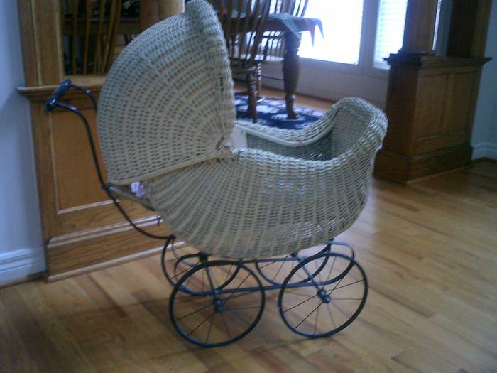 grandma's baby buggy