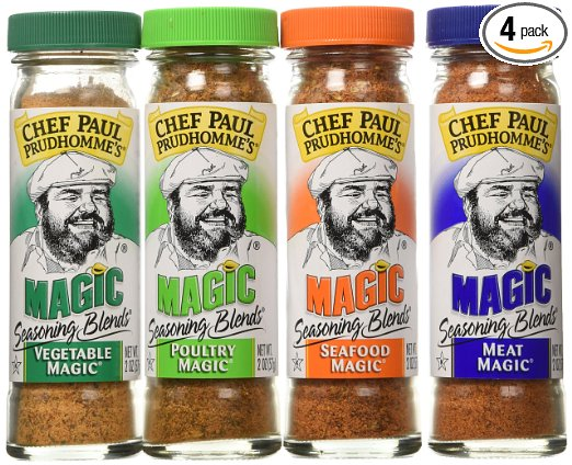 Chef Paul Prudhomme's Magic Seasoning Blends Magic 4-Pack