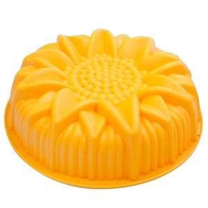 Silicone Sunflowe baking pan