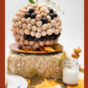 Thanksgiving Kids Food Craft: Pop'ems Thanksgiving Pumpkin