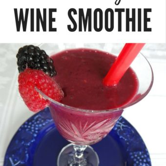 Pinterest Fail! Blackberry Wine Smoothie Recipe