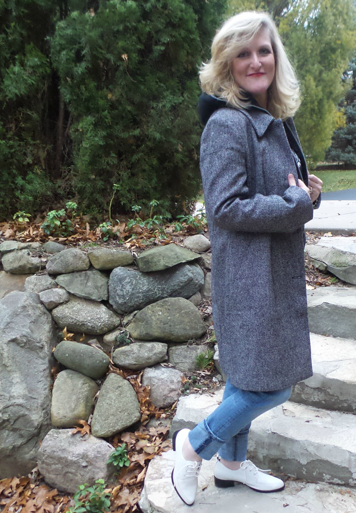 Tweed is the New Black! Chadwicks of Boston Wool Coats