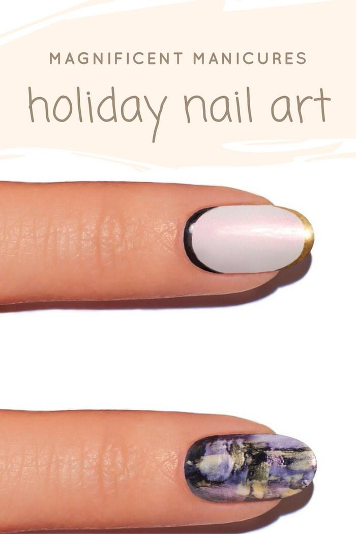 jinsoon holiday nail art 2016 treasure trove