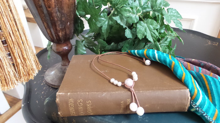 Wendy Mignot Fine Pearls and Leather jewelry