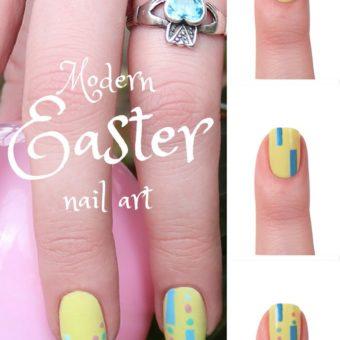 Modern Easter Nail Art | Modern Easter Manicures
