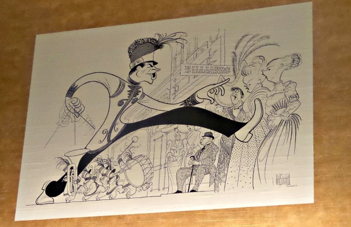 Al Hirschfeld Algonquin Hotel The tonys as seen by hirschfeld