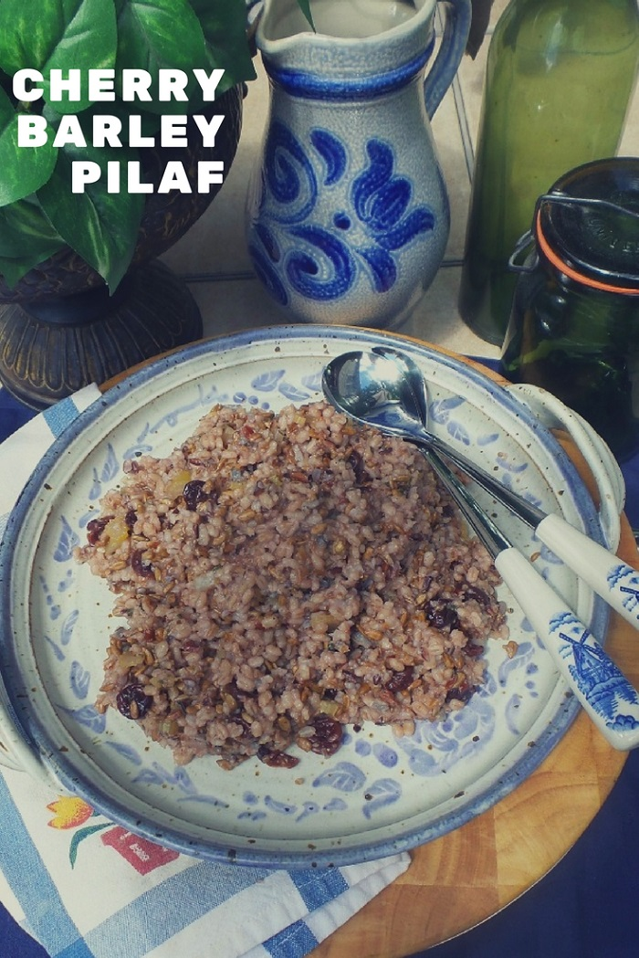Cherry Barley Rice Pilaf Recipe