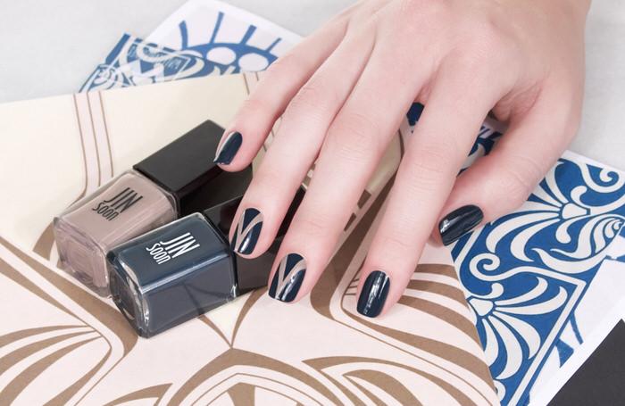 Art Nouveau Manicures | Fall Manicures | Fall Nail Art