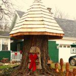 Tree Stump Gnome Home Tree Stump Houses