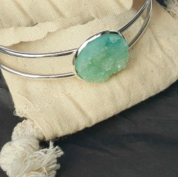 Druzy Bangle Bracelet DesignbyKatelynnLeigh