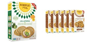 Simple Mills - Sprouted Seed Crackers