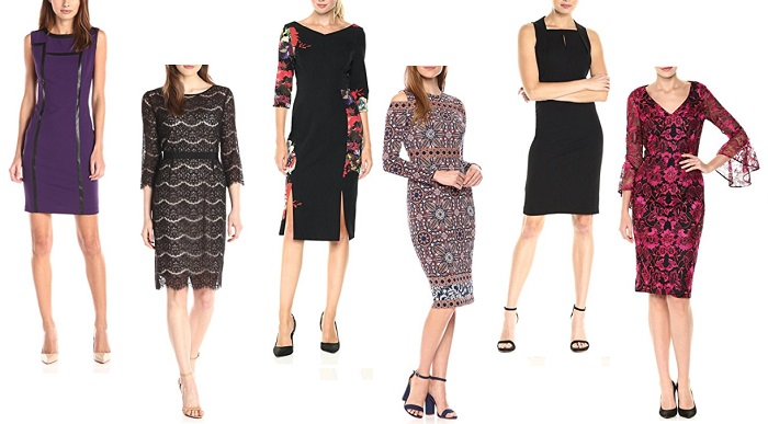 holiday dresses for Mature Women sheaths