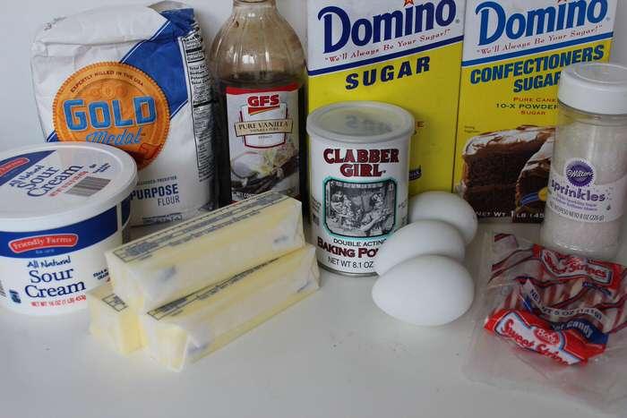 Candy Cane Christmas Cupcakes Recipe