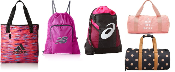 Pink Activewear Choices for Mature Women pink gym bags