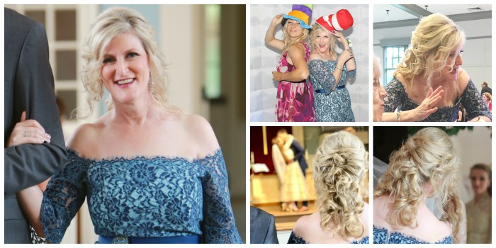 Romantic Mother of the Bride Hairstyles