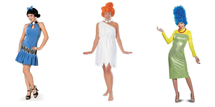 Female Movie Character Costumes for Your Halloween Costumes Cartoon
