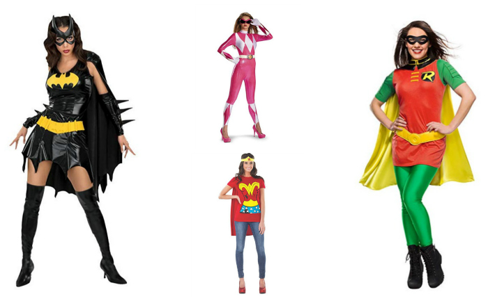 Female Movie Character Costumes for Your Halloween Costumes Superheros