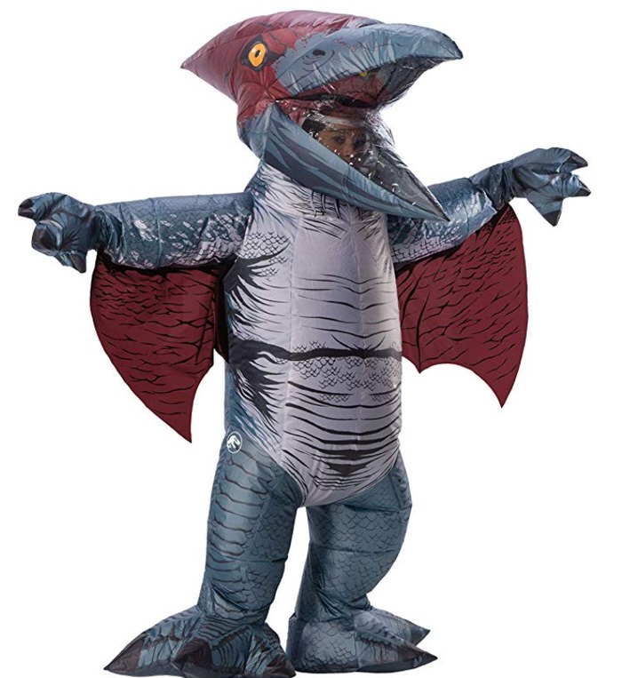 Piggyback costume piggy back Jurassic World Inflatable pteranodon Piggyback costumes for Adults | Inflatable Costumes for Adults