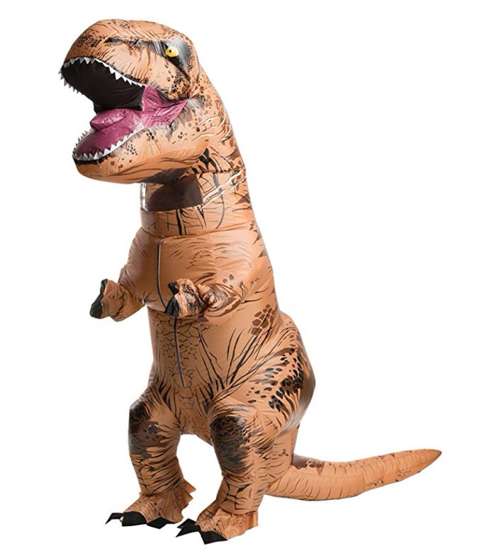 Piggyback costume piggy back Jurassic World Inflatable trex Piggyback costumes for Adults | Inflatable Costumes for Adults