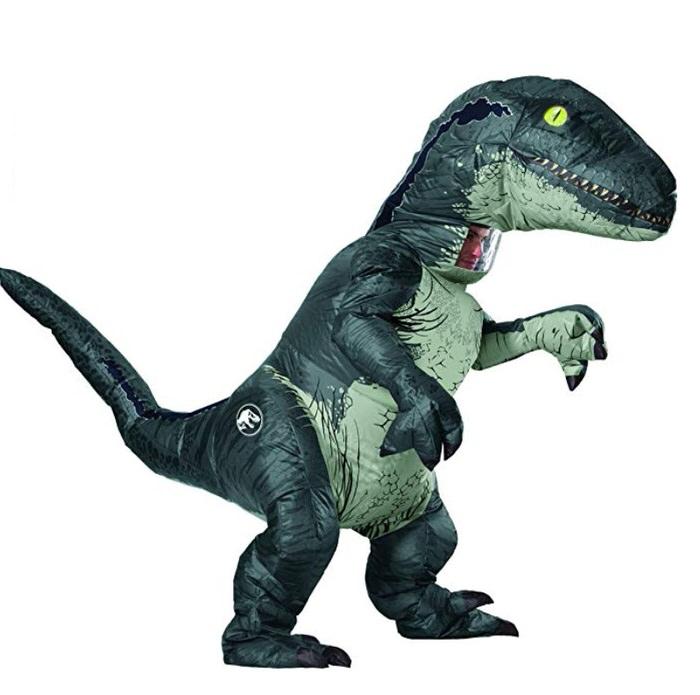 Piggyback costume piggy back Jurassic World Inflatable Velociraptor Piggyback costumes for Adults | Inflatable Costumes for Adults
