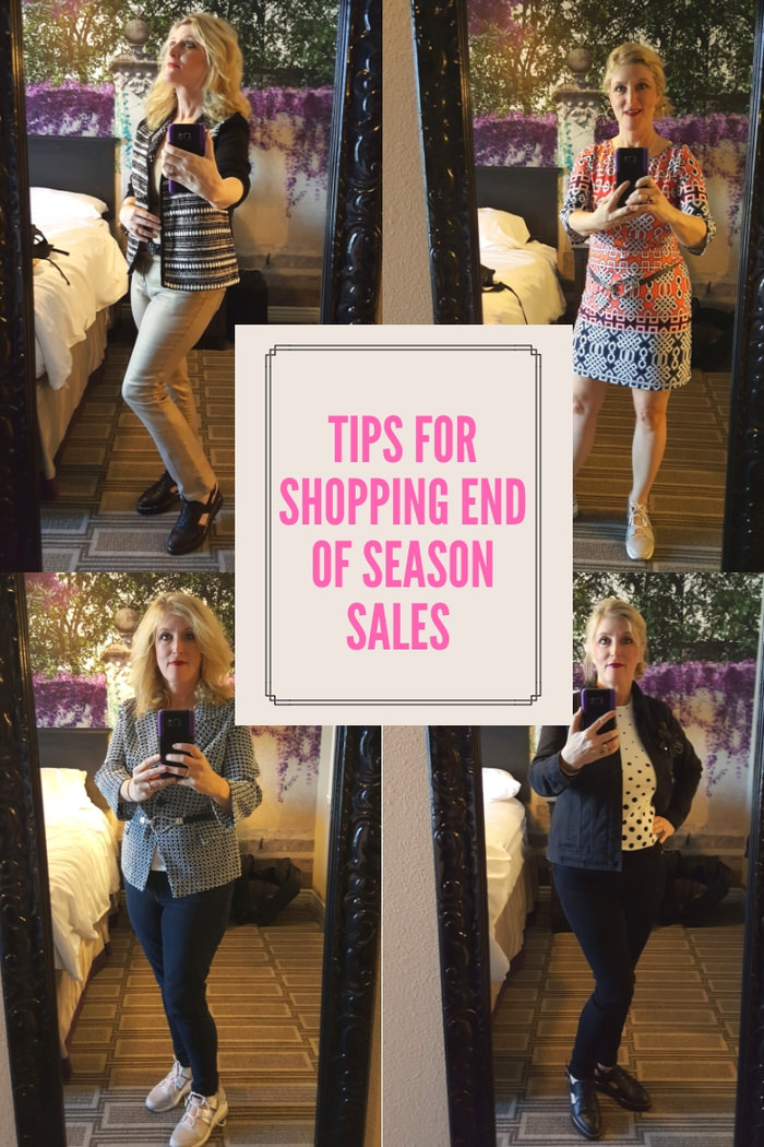 tips for end of season sales women over 50 Fashion over 50