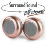FresheTech Splash Tunes Pro Dual Bluetooth Stereo Shower speakers